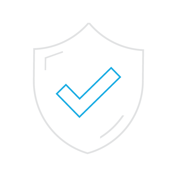 Secure safety icon