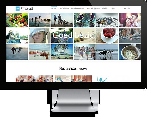 Fitzz-all main screen