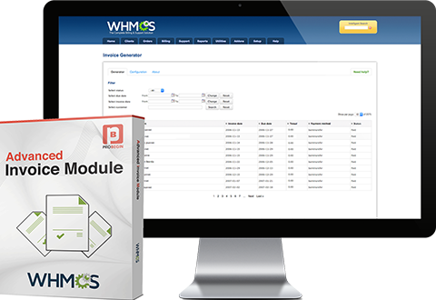 WHMCS Advanced invoice