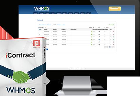 WHMCS iContract